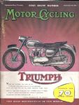 Motor Cycling Magazine First Show Number 10th Nov 1955